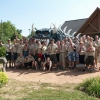 Boy Scouts Troop with the Hodag