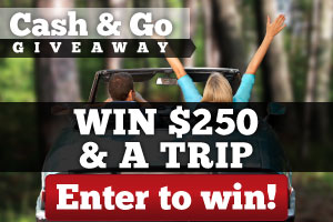 Enter to win $250 and a trip!