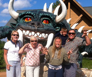 Family Finds the Hodag